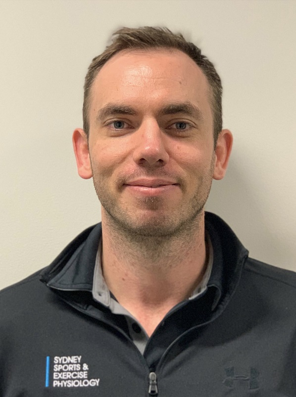 Exercise Physiologist in Sydney, Luke Bowen. You can find Luke at our exercise physiology clinic in Olympic Park NSW 2567