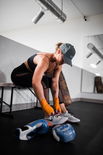 Benefits of Exercise Rehabilitation. Wearing shoes that help support the ankle