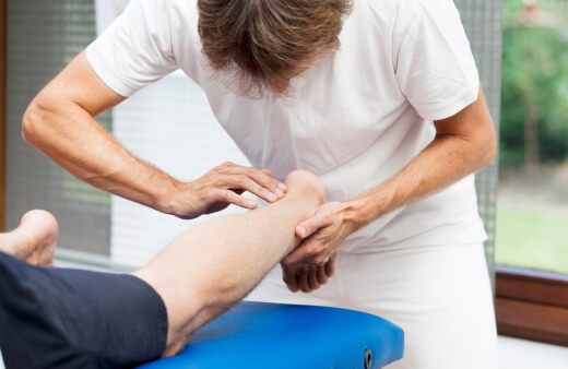 Achilles Tendonitis occurs due to overuse of the Achilles tendon