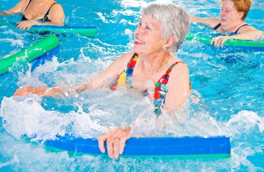 swimming rehabilitation